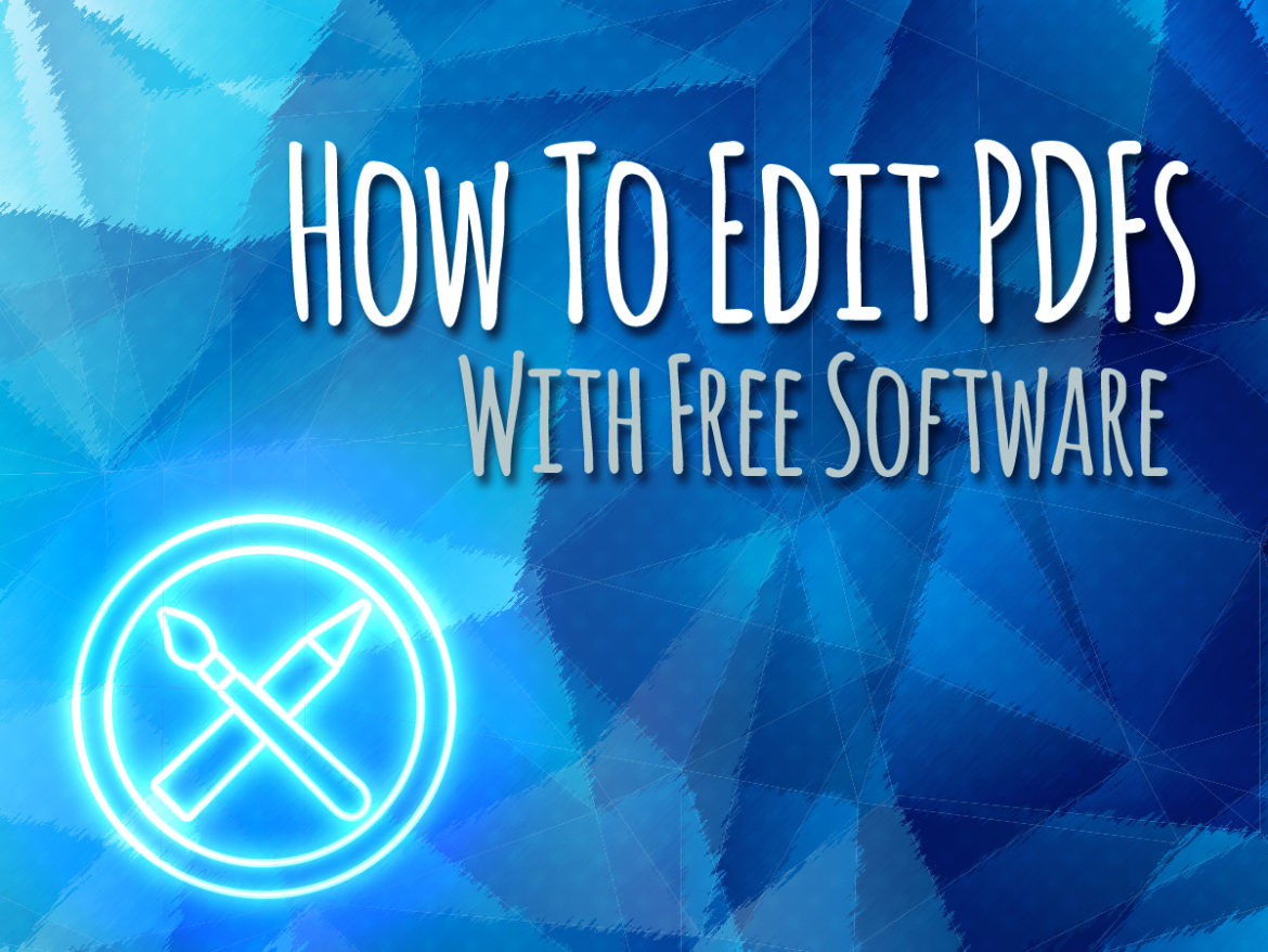 Free Software To Edit PDFs on Mac