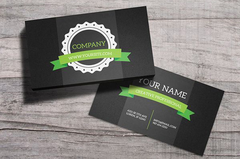 15 minimalistic and inspiring business card designs outboost media 15 minimalistic and inspiring business card designs reheart Choice Image
